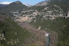Χαράδρα Βοϊδομάτη και η θέση Κλειδί (Κόκκινα βράχια) (1)