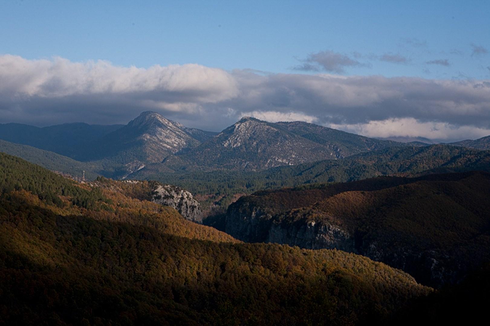 Το φαράγγι Βικάκι και στο βάθος οι κορφυές Κούστα και Κοζιακός Το Τρίτοξο ή Καλογερικό γεφύρι στους Κήπους Πάπιγκο, Μονοδέντρι, Λιθανάγλυφο από Κονιτσιώτες μαστόρους στον ενοριακό ναό Αγίου Βλα΄σιου Παπίγκου Κουκούλι, Η Μονή Παναγίας Σπηλιώτισσας στον Βοϊδομάτη (Αρίστη) Εικόνισμα στην είσοδο του φαραγγιού του Βίκου από το χωριό Βίκος Δίλοφο, Αυλόπορτα αρχοντικού στη Βίτσα Αρχοντικό στο Τσεπέλοβο Αγιος Αθανάσιος Μονοδεντρίου - ΧΑΡΗΤΑΚΗΣ ΠΑΠΑΙΩΑΝΝΟΥ/ HARITAKIS PAPAIOANNOU