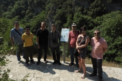 Επίσκεψη στη θεματική διαδρομή του Γεωπάρκου στον Βοϊδομάτη