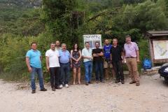 Επίσκεψη στον Βοιδομάτη και συνάντηση με συνοδούς ποτάμιων δραστηριοτήτων