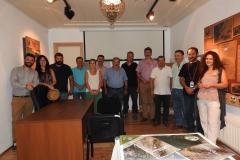 Επίσκεψη στο Κέντρο Ενημέρωσης του Γεωπάρκου στο Μεγάλο Πάπιγκο και συνάντηση με εκπροσώπους τοπικών φορέων