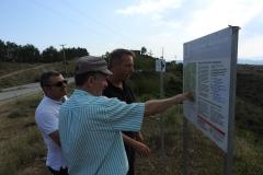 Ξενάγηση με βάση τις πινακίδες των γεωδιαδρομών του Γεωπάρκου