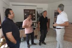 Ξενάγηση στο Κέντρο Ενημέρωσης του Δήμου Κόνιτσας