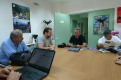 Συνάντηση με τους υπεύθυνους του Φορέα του Εθνικού Πάρκου Βόρειας Πίνδου