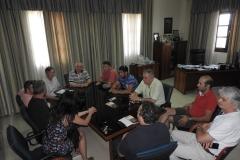 Συνάντηση με το Δ¨ημαρχο και εκπροσώπους φορέων του Δ Κόνιτσας