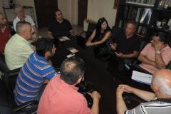 Συνάντηση με το Δήμαρχο και εκπροσώπους φορέων του Δήμου Κόνιτσας